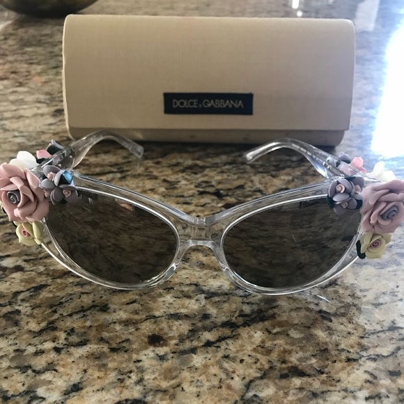Cat Flower Gabbana Eye Sunglasses Dolceamp; Nwt N0OX8kwnPZ